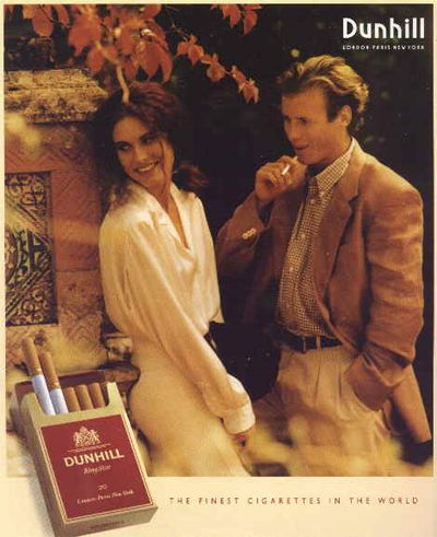 Selling cigarettes Dunhill in the USA