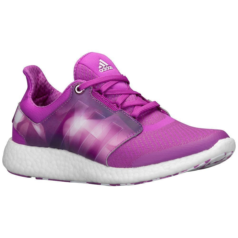 2f51a8c3f516c Adidas Pure Boost 2 Women s Running Shoes S81440 Pink White Purple Graphic  Sz 9  Adidas  RunningCrossTraining