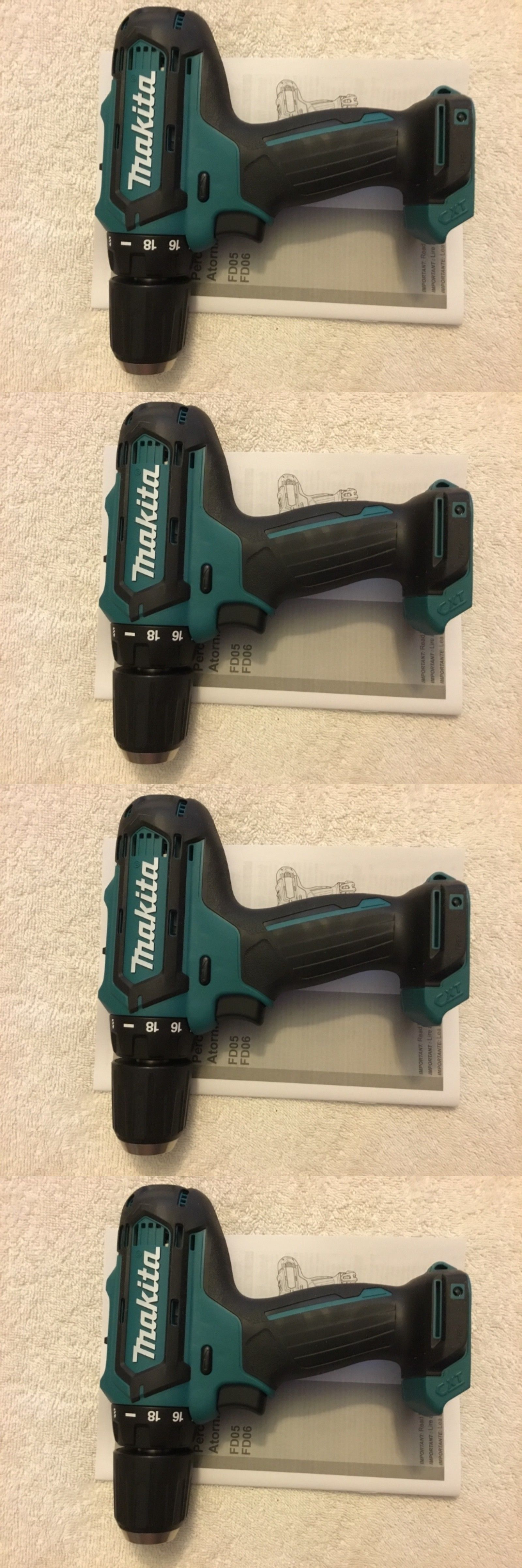 Cordless Drills 184655 New Makita Fd05z 12v 12 Volt Max Cxt 3 8 2 Speed Drill Driver Li Ion Buy It Now Only 28 59 On Ebay Drill Makita Cordless Drills