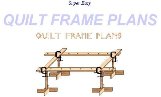 Build Your Own Quilt Frame With These Super Easy Plans I Have