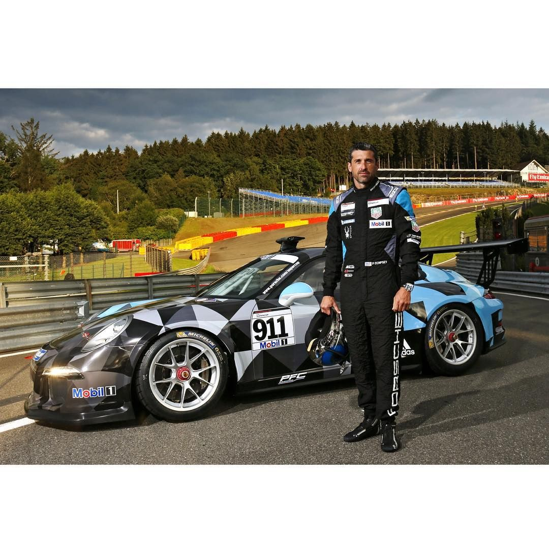 Patrick Dempsey Porsche Supercup Spa 2015   Patrick Dempsey ...
