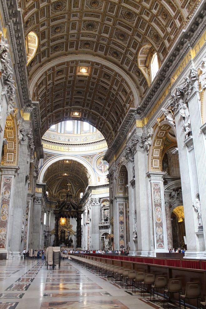Basilica de São Pedro www.espelhoepassarela.com