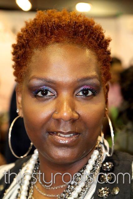 Wondrous African American Natural Hair Pictures Burnt Orange Hair Care Short Hairstyles Gunalazisus