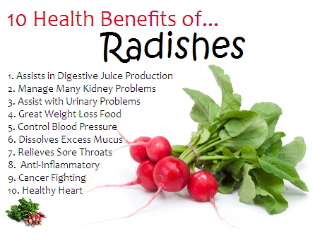 Sexual health benefits of watermelon radish