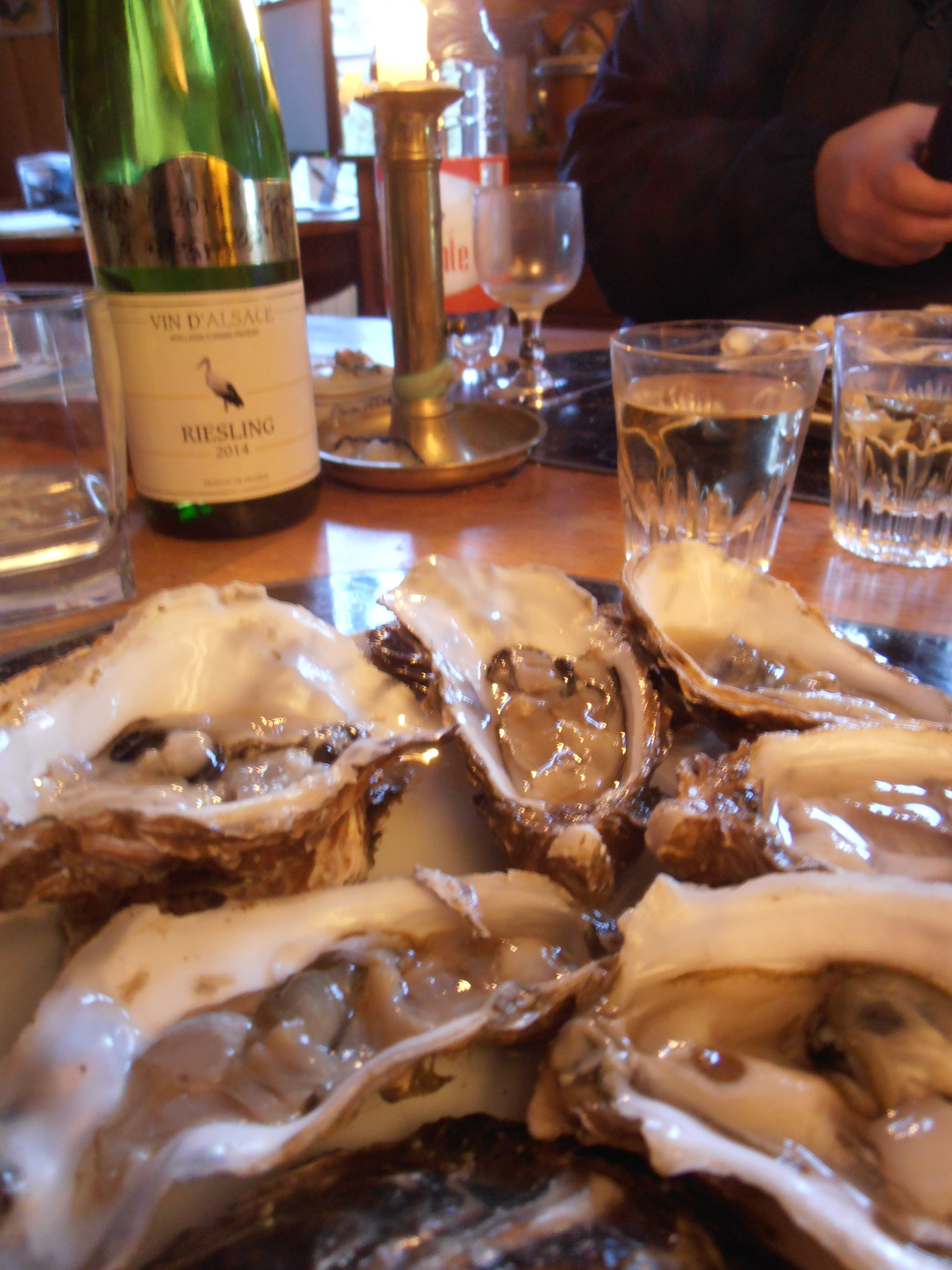To me; Enjoying Oysters equals enjoying Life. So that is a true reason for it being so valuable to share. I Know at the correct time, what is best will be, and just in time for that one person, wishing to be assisted (or not) in the art of loving oysters. http://olivierlebreton.nl/