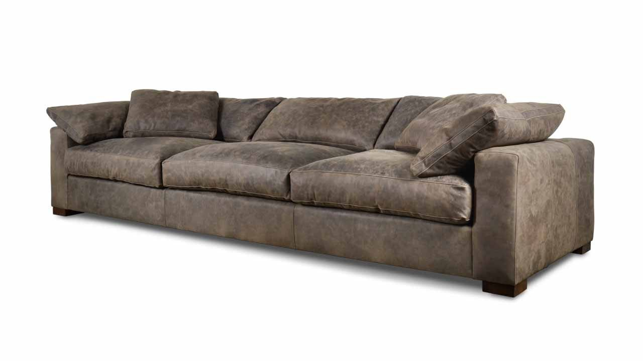COCOCOHome | Nuvola Leather Sofa   Made In USA