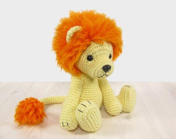 PATTERN: Lion - Amigurumi lion pattern - Crochet tutorial with ...
