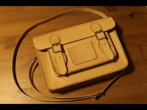 Making a Leather Classic Satchel - YouTube  d8cd233422d39