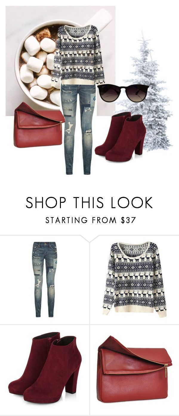 """December!"" by dzenita-219 on Polyvore featuring Polo Ralph Lauren, Eddie and Ray-Ban"