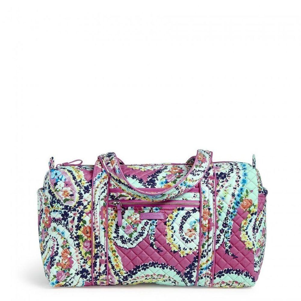 5385e23b3 Vera Bradley 22282-I79 Iconic Travel Duffel Bag Wildflower Paisley, Large # VeraBradley #Duffel