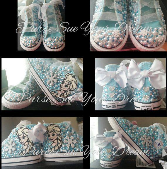 pretty nice 2c891 6b10a frozen converse scarpe