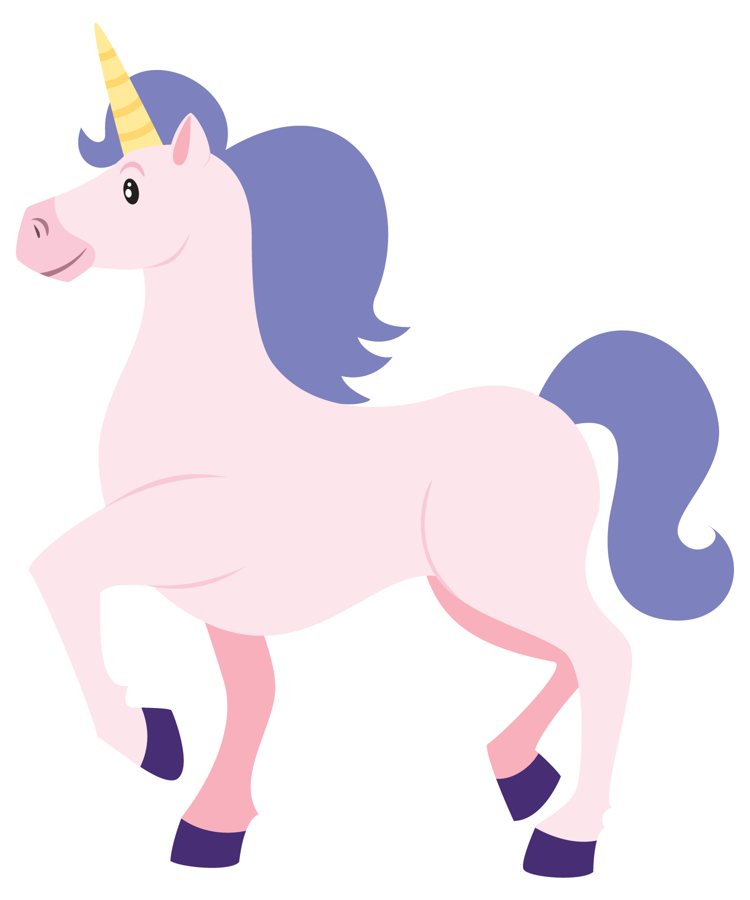 Clip Art Unicorn This cute cartoon unicorn clip | Unicorns