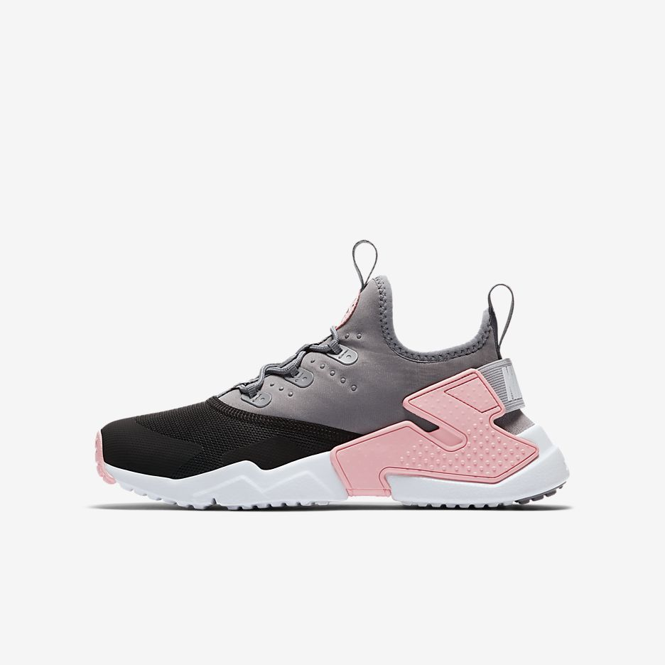 new product ed4bf 44e5c Nike Huarache Run Drift Older Kids  Shoe