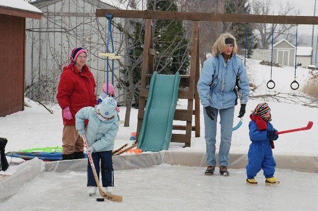 User Log In | Backyard ice rink, Backyard, Amazing gardens