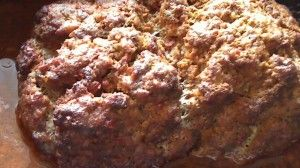 Barbecued Meatloaf - without the grill.  Use the Nesco and get the great outdoor flavor without heating up your kitchen, especially when you cannot BBQ.