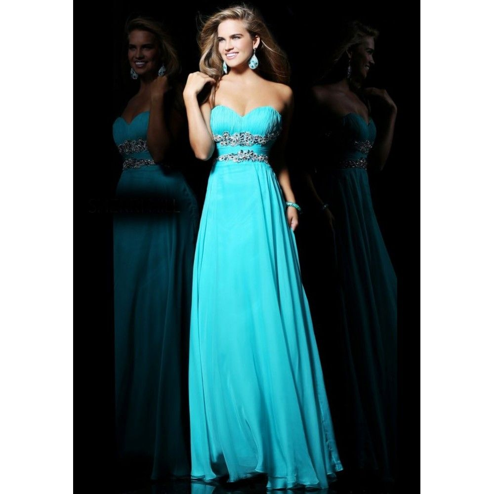17  images about Dress on Pinterest - Ombre- Turquoise dress and ...