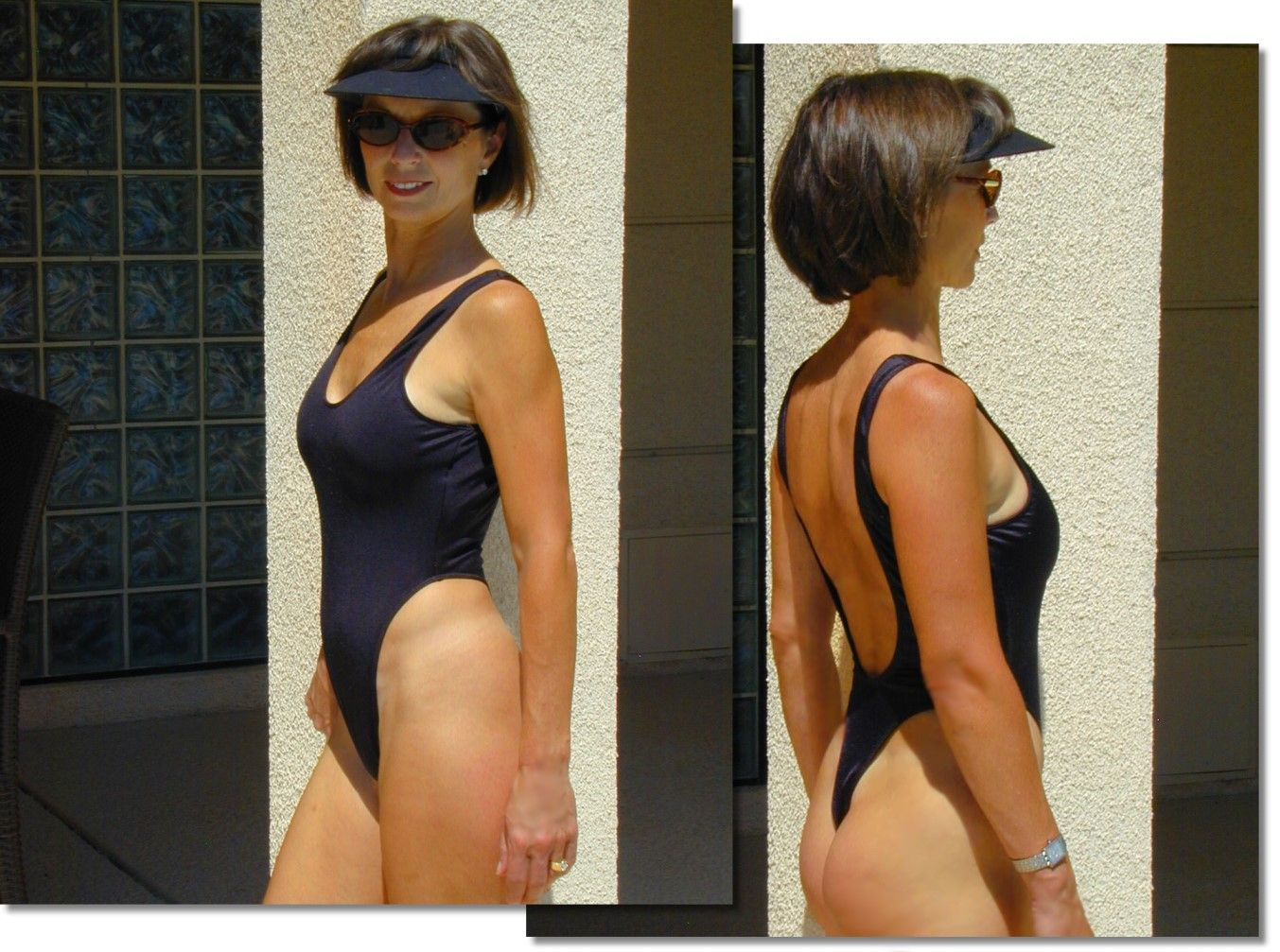 st raphael one piece thong in blackbrigite exclusively for