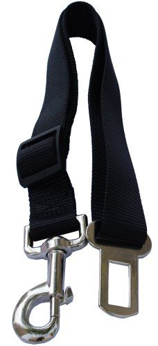 Lanyarco Black Pet Dog Adjustable Car Automotive Seat Safety Belt Vehicle Seatbelt leash lead Travel For Small  Medium  Large DogsCats * Find out more about the great product at the image link.