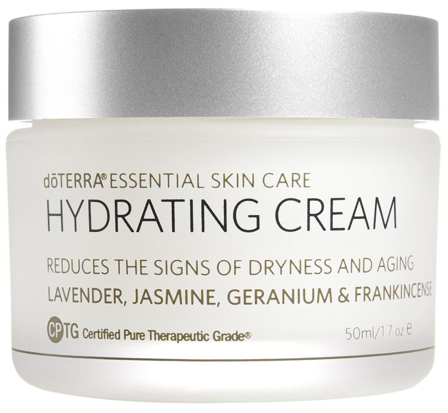 Doterra Hydrating Cream Essential Skin Care Collection 1 7 Oz Doterra Hydrating Cream Enriches Skin Care Essentials Hydrating Cream Skin Care Collection