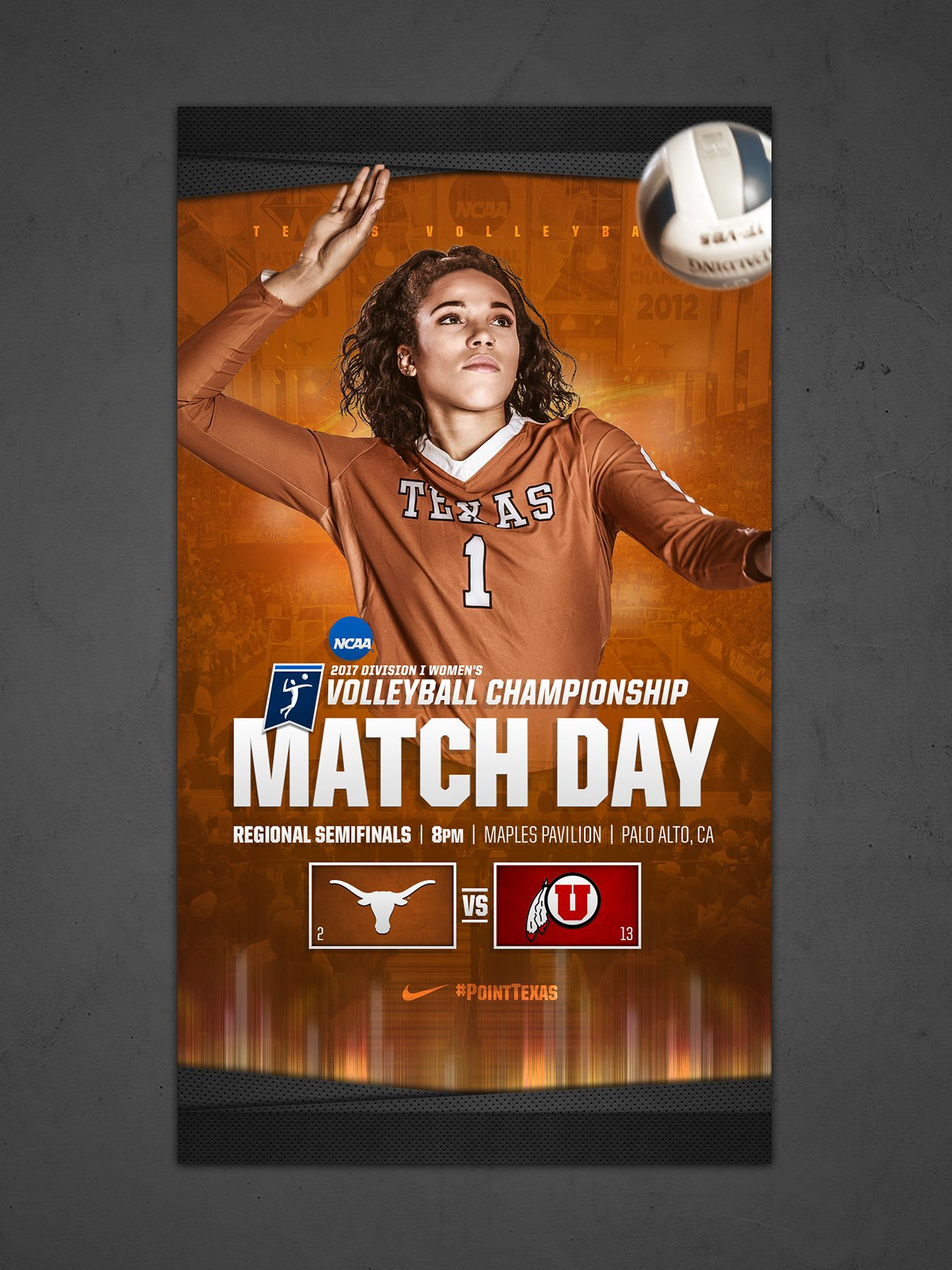 Check Out This Behance Project Texas Volleyball Postseason Graphics Package Https Www Behance Net Gallery 59763201 Women Volleyball Volleyball Postseason