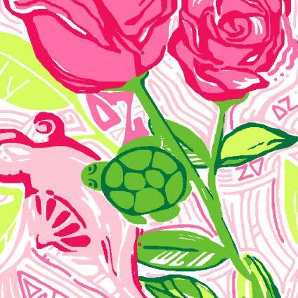 997cf553401036 Lilly Pulitzer sorority- Delta Zeta | Lilly goes Greek | Delta zeta ...