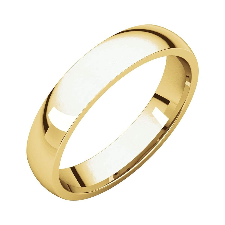 Size 15 Bonyak Jewelry 10k White Gold 3 mm Milgrain Lightweight Comfort-Fit Band