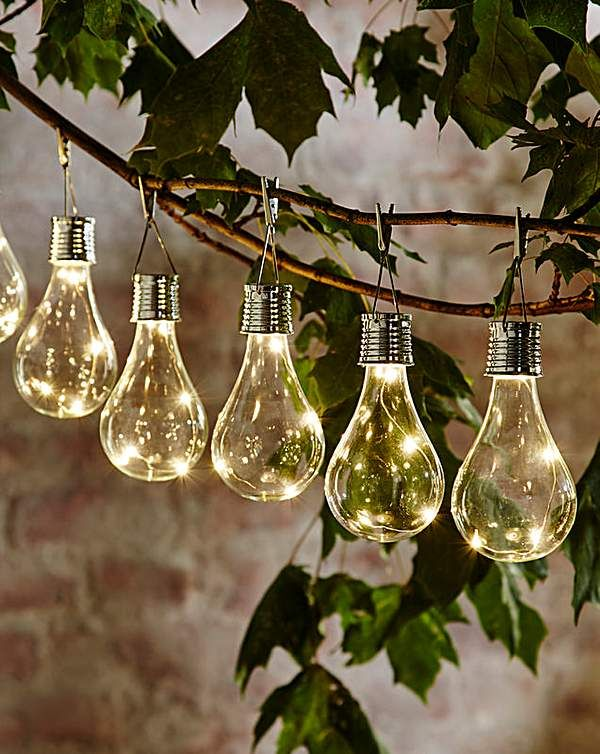 Smart Garden Solar Light Bulb 6 Pack Solar Lights Garden Solar