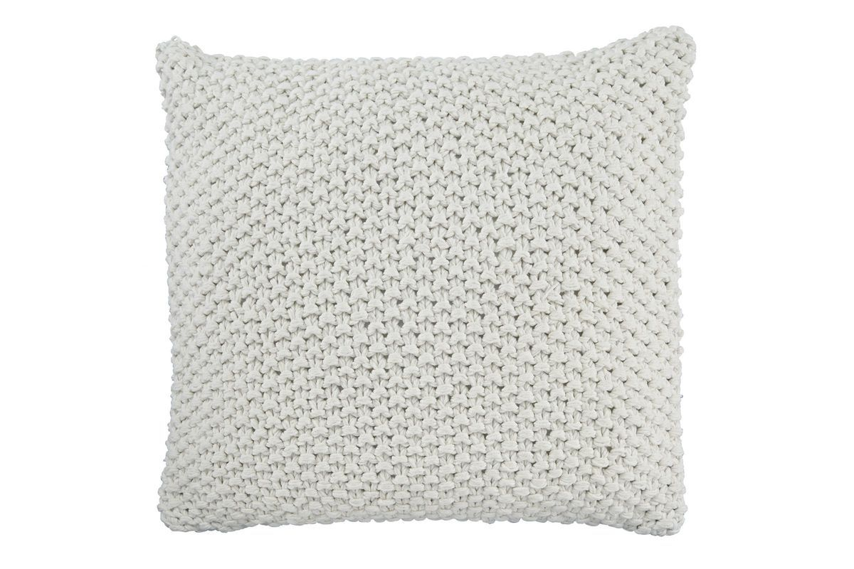 Cream Abstract Linear Pillow Cover