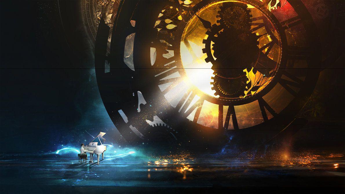 Clockwork By T1na Deviantart Com On Deviantart Clockwork Wallpaper Digital Wallpaper