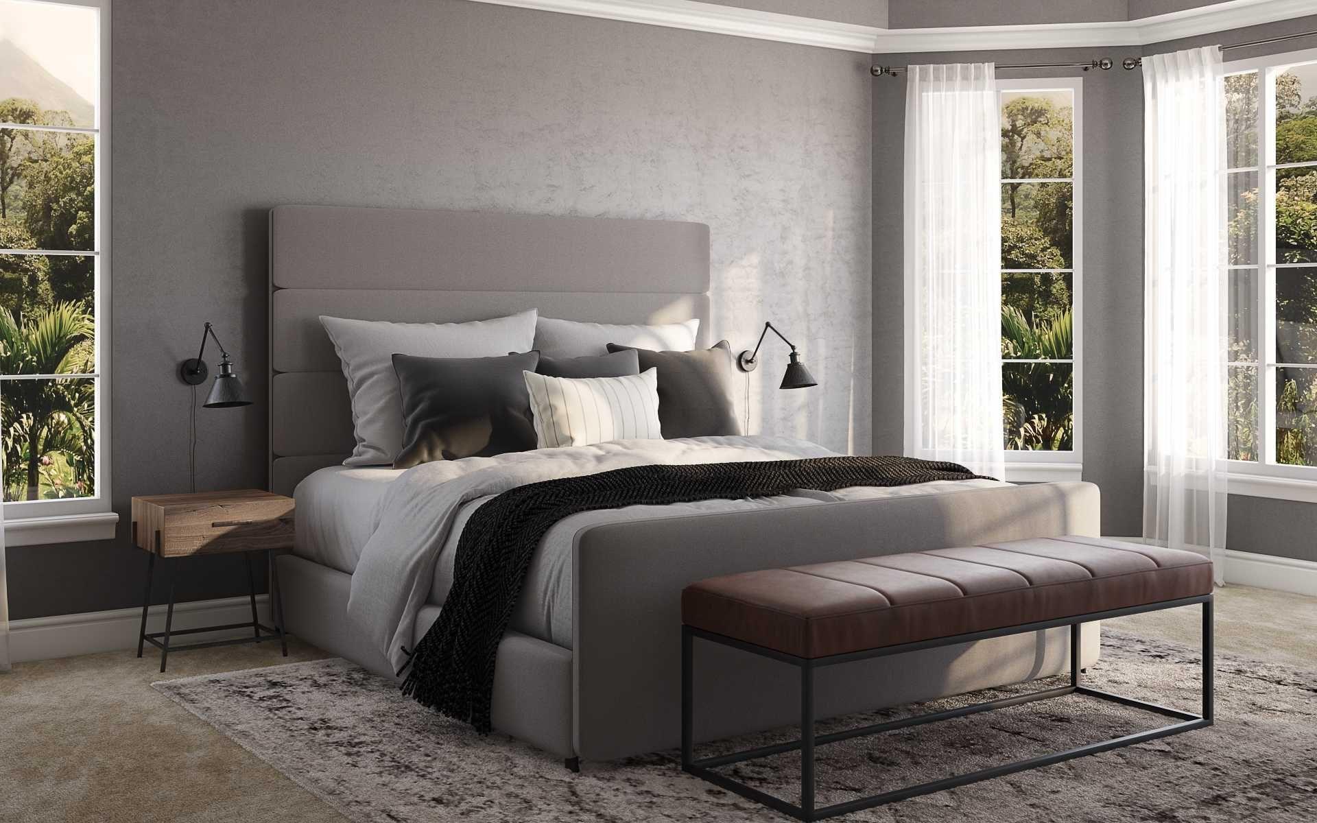 Modern Rustic Scandinavian Bedroom Design By Havenly Interior Designer Chelsea Bedroom Design Interior Design Scandinavian Design Bedroom