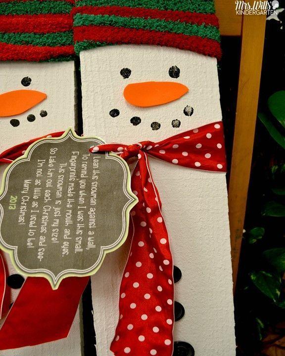 Attractive Kindergarten Christmas Craft Ideas Part - 9: My Favorite Kindergarten Christmas Craft (Free Download Included)