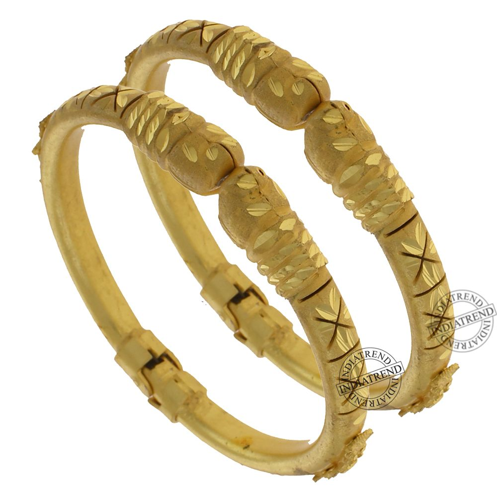 Our TAVISHI BANGLES   by Indiatrend. Shop Now at WWW.INDIATRENDSHOP.COM