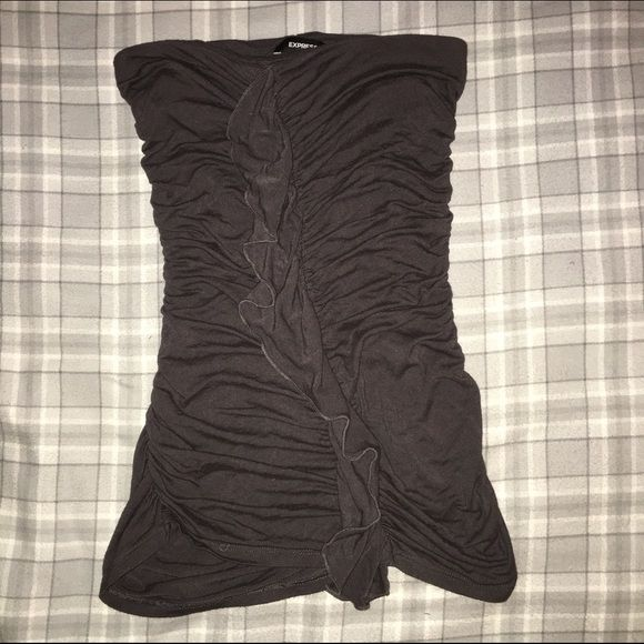 Express tube top Worn once. Great condition. Express Tops