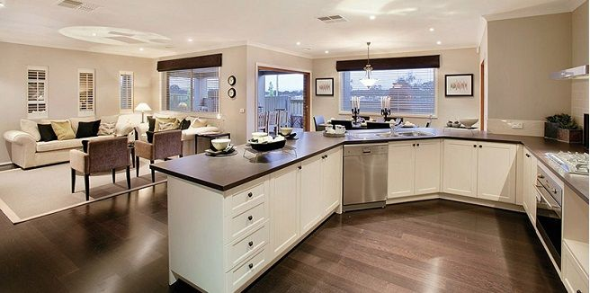 Cocina Americana Grande Buscar Con Google Cocina Americana Salas Y Cocinas Decorar La Cocina