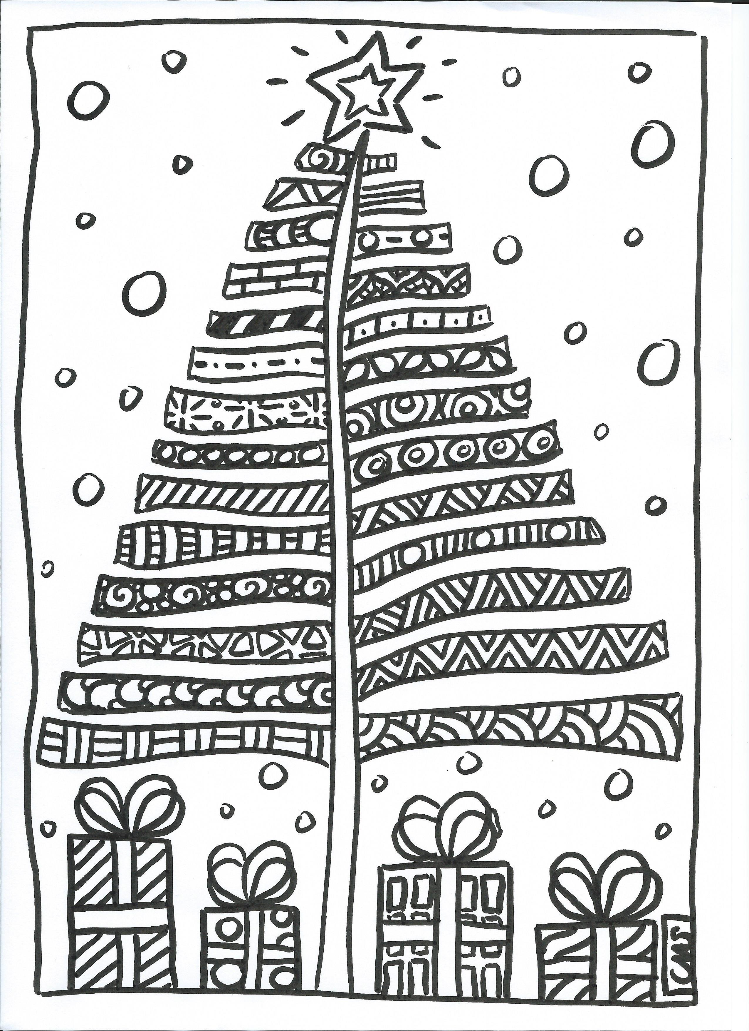 Zentangle Noel