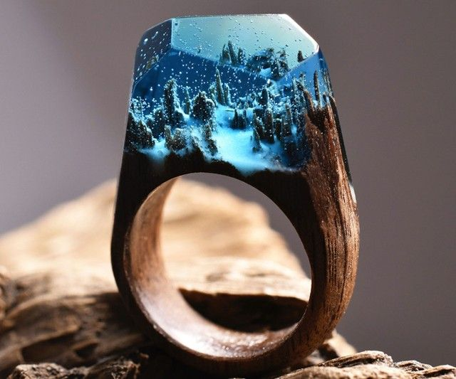 How is this wood and resin ring made? http://ift.tt/2d45Tdt . how to make your own #crafts follow @cutephonecases