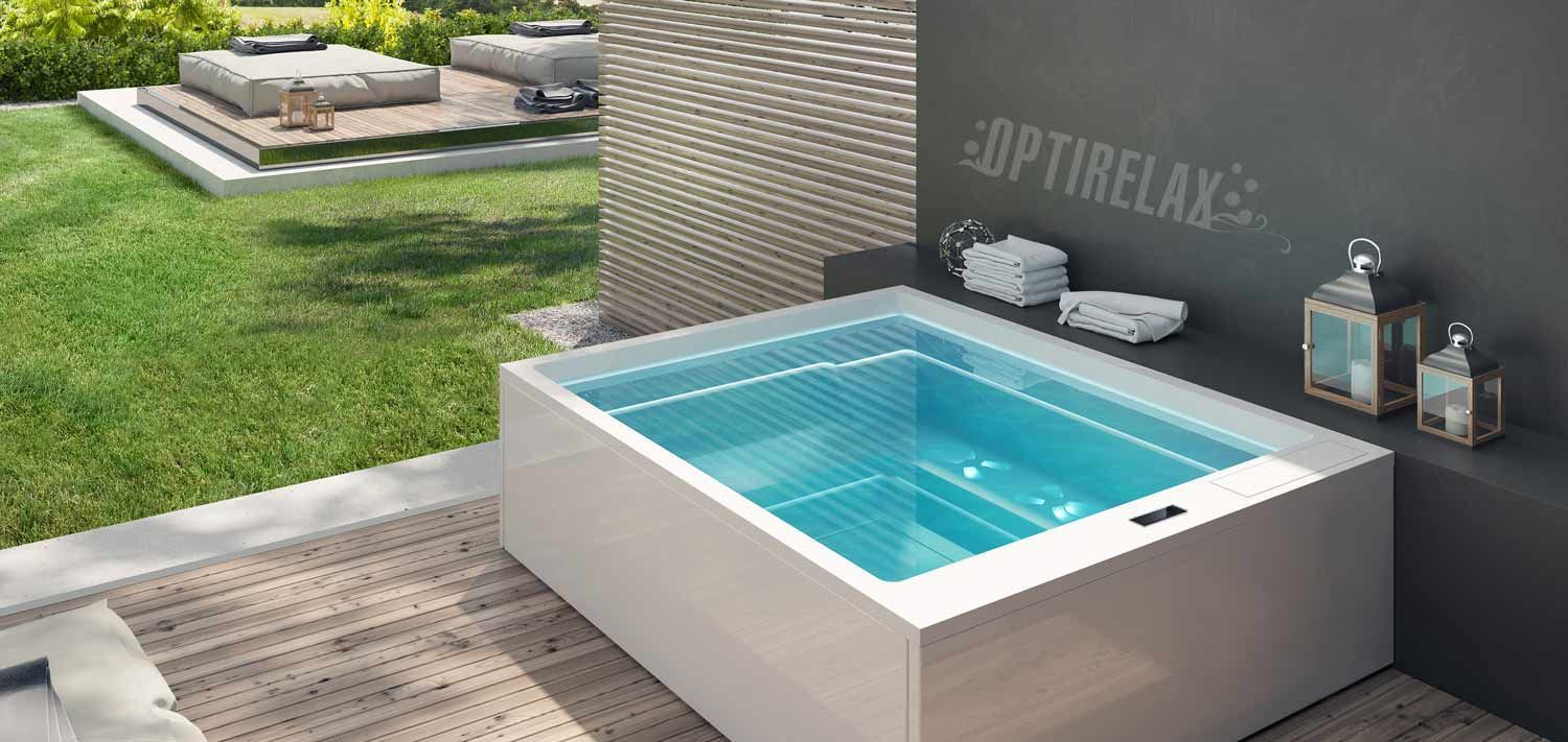 outdoor whirlpool - spa kaufen von optirelax® #whirlpoolspatub