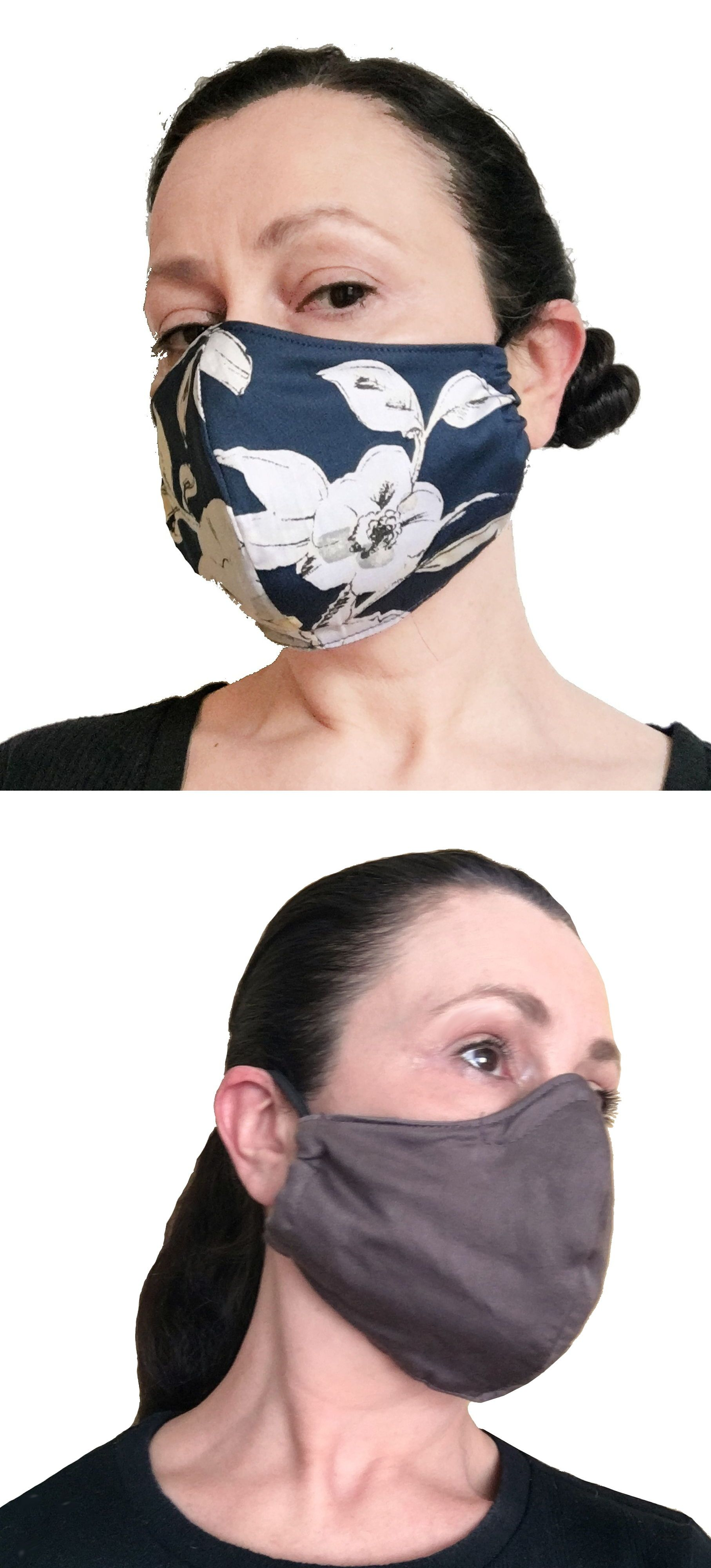 Face mask with nose wire and filter pocket in 2020 Diy