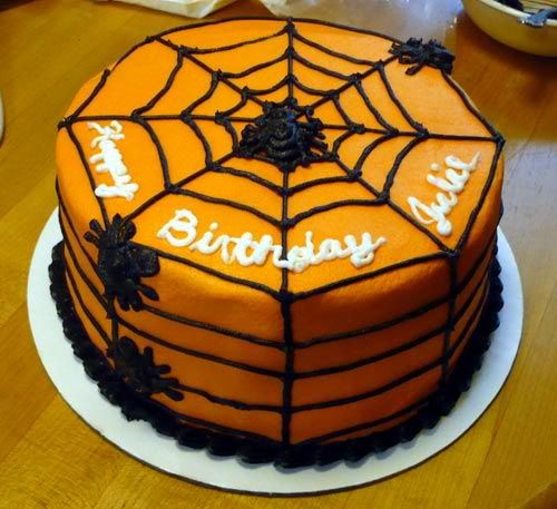 Key2Baking Halloween Birthday Cake 8th birthday Pinterest