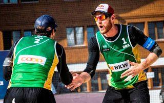 Blog Esportivo do Suíço:  Alison e Bruno Schmidt despacham compatriotas e vão às semis de Gstaad