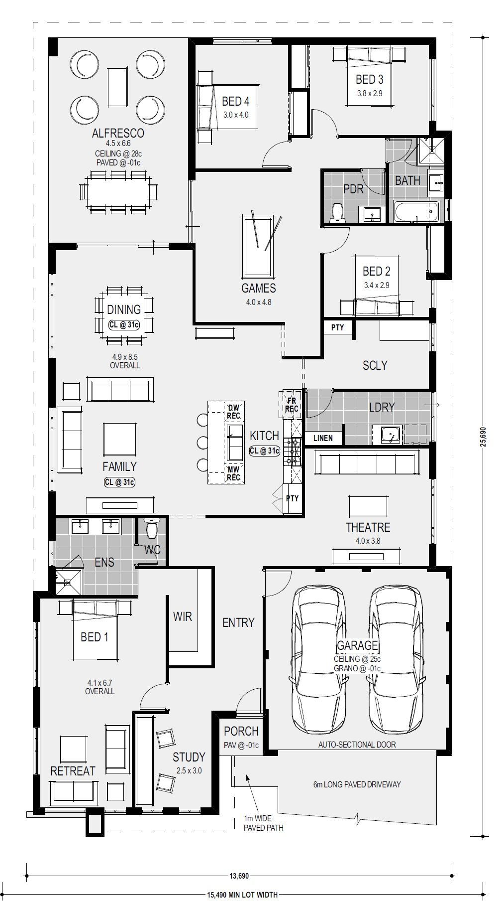 Floor Plans Of Washington Designer Kitchen By Home Group Wa Floor Plans House Plans House Floor Plans