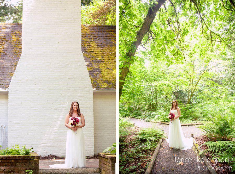 Highlights Stephanie Ian S Wedding At Leach Botanical Gardens In Portland Or