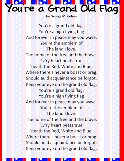 Patriotic Song Freebies Classroom Freebies Classroom Freebies Patriotic Songs Lyrics Patriotic