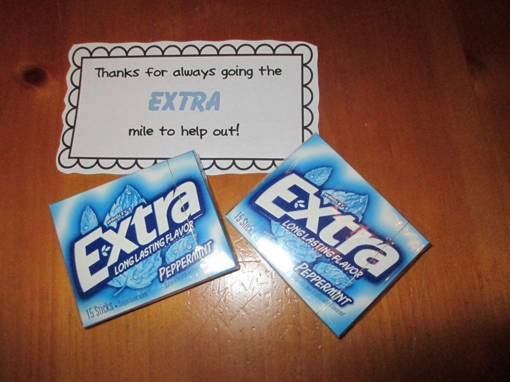 Classroom Thank You Ideas ~ Quick and easy thank you gifts for classroom volunteers