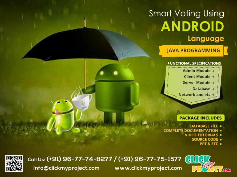 Complete Your Final Year Project on Smart Voting Using