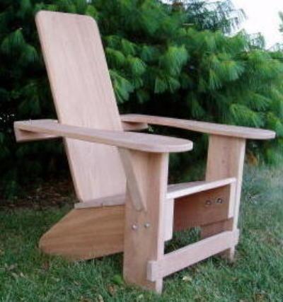Superbe Clarks Westport Adirondack Chair (Mahogany)