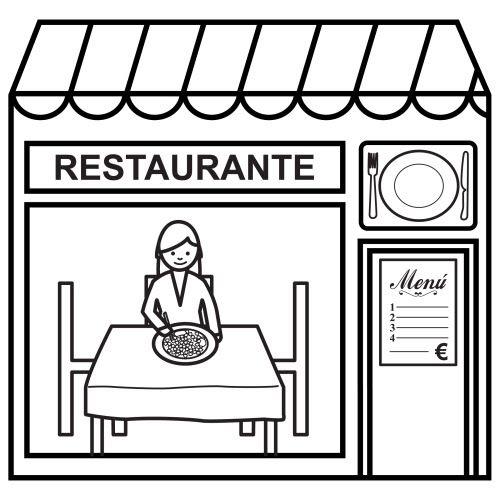 Dibujos De Tiendas Para Colorear Educacion Infantil Actividades Fichas