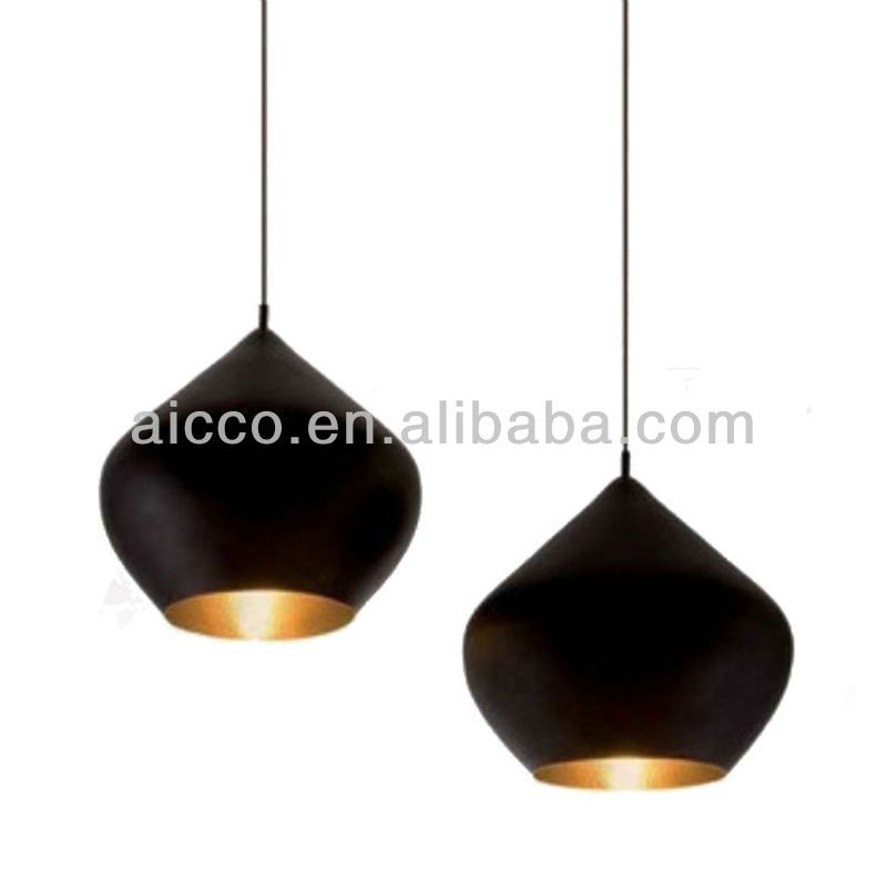 Tom dixon black beat light stout large and small pendant lighting also white
