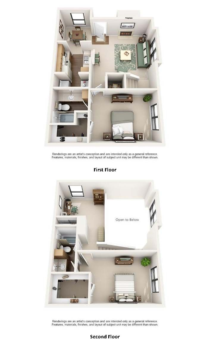 One And Two Bedroom Apartments In Austin Tx Apartment Floor Plans Sims House Plans Apartment Layout