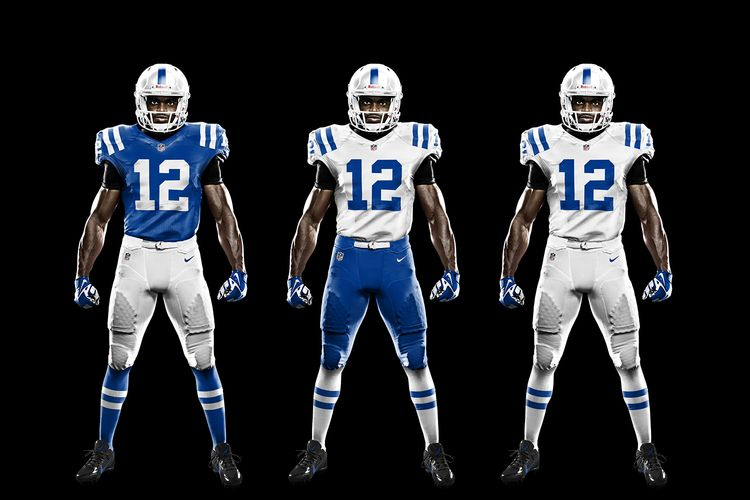 dba383d3 Indianapolis Colts Modified Uniforms By Jesse Akrie | COLTSTRONG ...